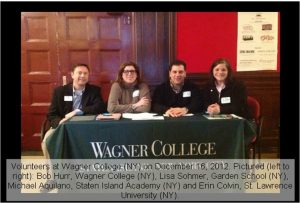 Wagner College, Staten Island, NY.